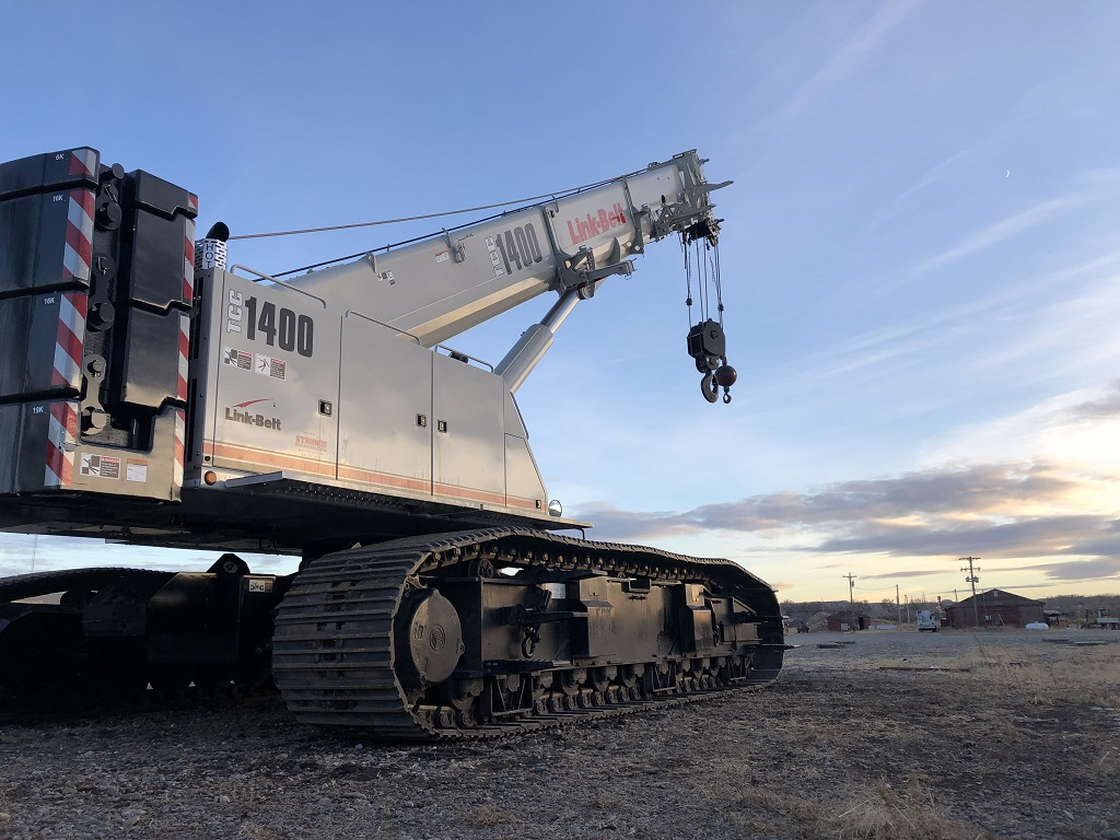Wilkerson Crane Rental - Equipment - Link-Belt TCC-1400