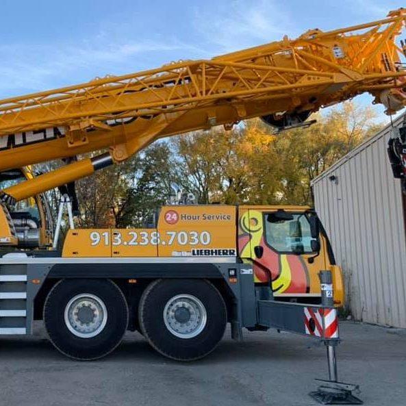 Wilkerson Crane Rental - Equipment - Liebherr LTM 1100-4.2
