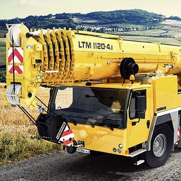 Wilkerson Crane Rental - Equipment - Liebherr LTM 1120-4.1   *COMING SOON