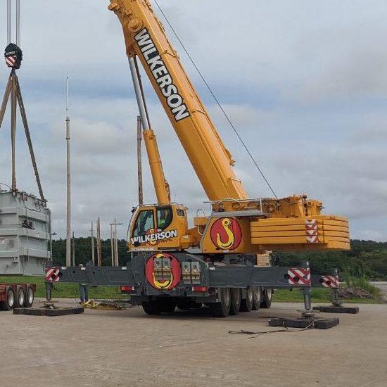 Wilkerson Crane Rental - Equipment - Liebherr LTM 1160-5.2