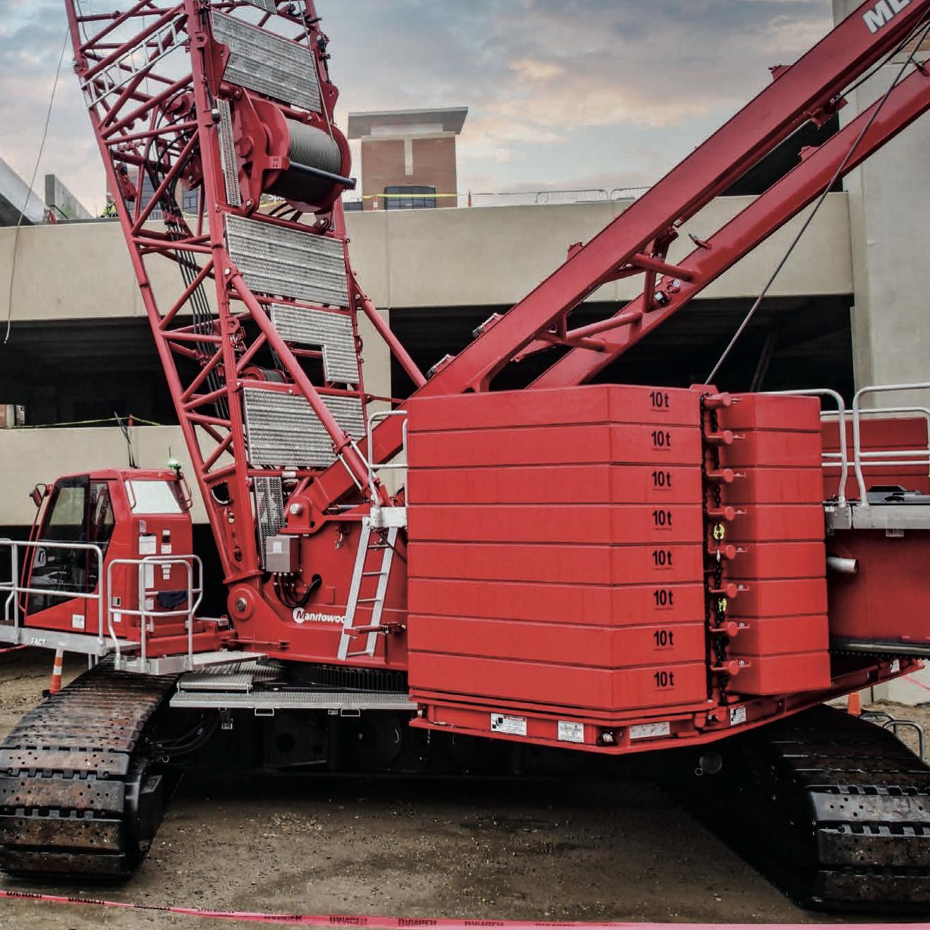 Wilkerson Crane Rental - Equipment - Manitowoc MLC300