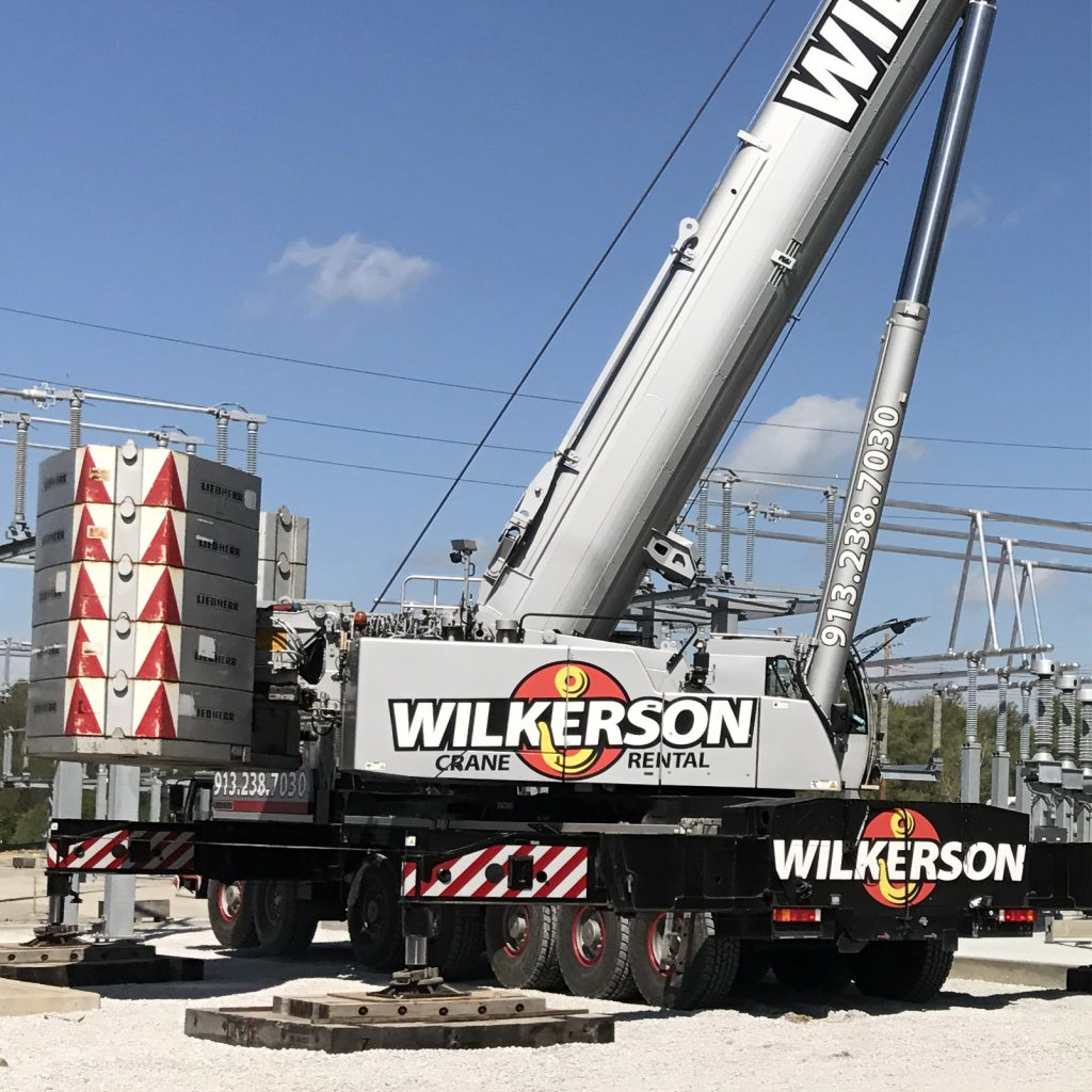 Wilkerson Crane Rental - Equipment - Liebherr LTM 1400-7.1