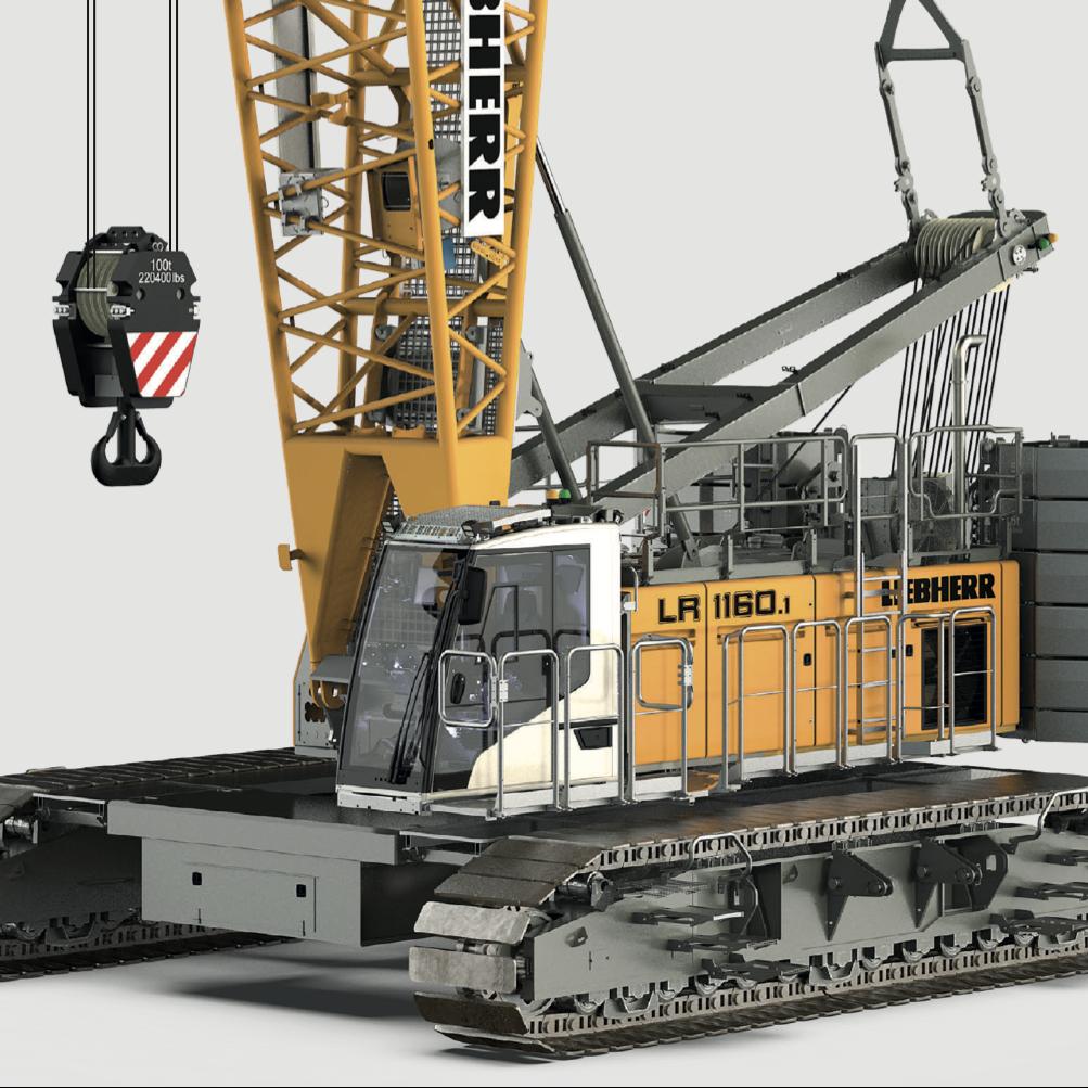 Wilkerson Crane Rental - Equipment - Liebherr LR 1160