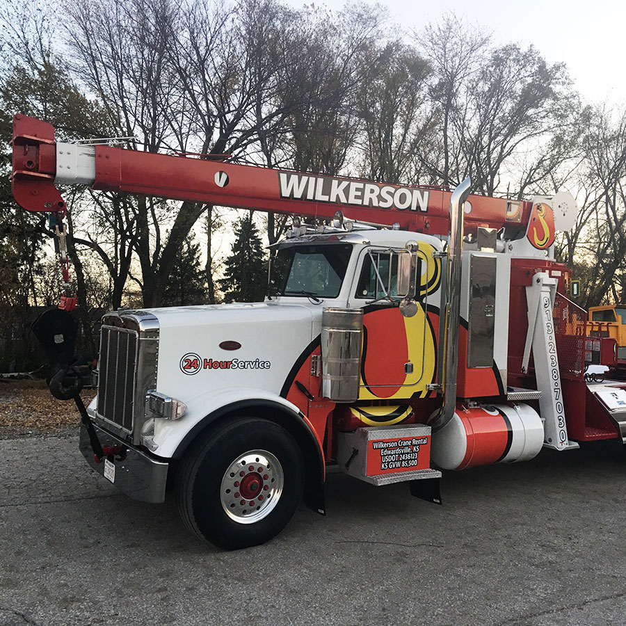 Wilkerson Crane Rental - Equipment - Stinger RO TC-110-45