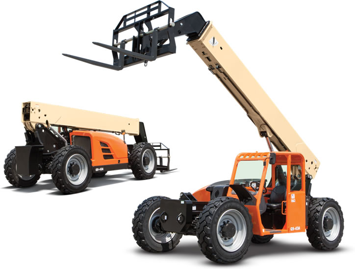 Wilkerson Crane Rental - Equipment - Telehandlers